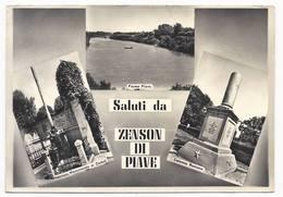 Saluti Da Zenson Di Piave - Treviso - H3029 - Treviso