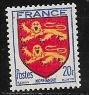 N° 605   FRANCE  -  FRANCE  -  ARMOIRIE NORMANDIE  -  1944 - France