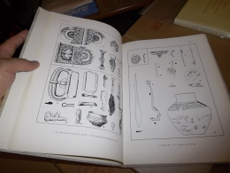 BÖHME, Germanische Grabfunde Des 4 Bis 5. Jahrhunderts Text + Tafeln, Archeology, Archäologie... - Archéologie