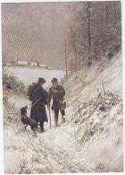 Landbriefträger Im Winter - Rural Postman / Facteur Rural - Hiver / Postbesteller - Post