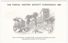 The Postal History Society Conference 1982 : Tunbridge Wells Post Office (+ Special POSTMARK) - Post