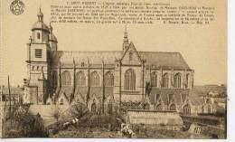 SAINT HUBERT  L Eglise Abbatiale  Style Ogiival Tertiaire De 1525 A 1564 Par Nicolas De Maleses Et Remacle De  Marche - Saint-Hubert