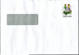 (1660) Aland Bedarfsbrief Innerhalb Aland Gelaufen, Aus JOMALA Vom 01.12.2008 Mädchen- Fußball - Aland