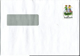 (1661) Aland Bedarfsbrief Innerhalb Aland Gelaufen, Aus FÖGLÖ Vom 01.12.2008 Mädchen- Fußball - Aland