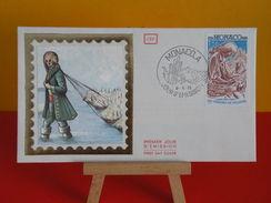 FDC - Johnathan Swift, Les Voyages De Gulliver - Monaco - 9.11.1976 - 1er Jour - FDC