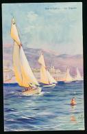 * MONACO, MONTE-CARLO : Les Régates, 1910, Robaudy, Cannes (non Circulée) - Monte-Carlo