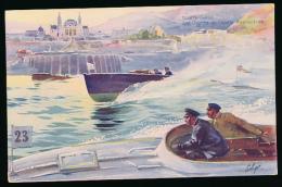* MONACO, MONTE-CARLO : La Course De Canots Automobiles, 1910, Robaudy, Cannes (non Circulée) - Monte-Carlo