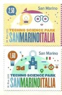 2015 - Italia - Congiunta Parco Scientifico - San Marino - 2011-20: Mint/hinged