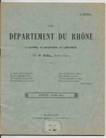 Le Département Du Rhone 1914 - Livres, BD, Revues