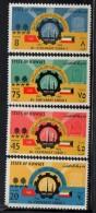 1962 Kuwait  Sabah Bicentenary Oil Wells Camels  Complete Set Of 4    MNH - Kuwait