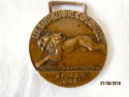 Medaglia LIX Battaglione Coloniale 1936 - Italia
