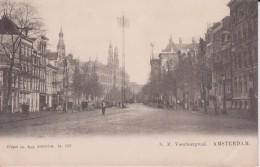 """PAYS BAS HOLLANDE NOORD HOLLAND AMSTERDAM  """" N Z Voorburgwal """" Précurseur - Nederland"""