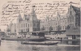 "PAYS BAS HOLLANDE NOORD HOLLAND AMSTERDAM  "" Centraal Station "" Précurseur - Nederland"