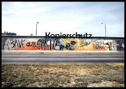 ÄLTERE POSTKARTE INDIANO SAVE OUR EARTH GET HUMAN BERLINER MAUER THE WALL LE MUR BERLIN Art Postcard AK Ansichtskarte - Berliner Mauer