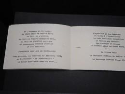 MENU - Menu Du Restaurant Le Panoramique En 1978 à L ´ Occasion De La Remise Du Prix De La Poésie - A Voir - L  3337 - Menus