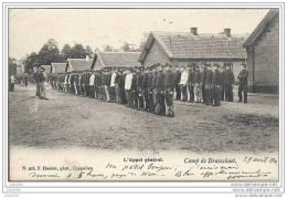 MILITARIA ..-- BRASSCHAAT ..-- L ´ Appel Général . 1904 Vers GAND ( Mr Georges BRICUSSE ) . Voir Verso . - Brasschaat