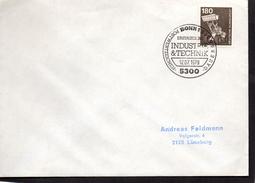 ALLEMAGNE  Lettre 1er Jour   1979 Pelleteuse Industrie - Factories & Industries