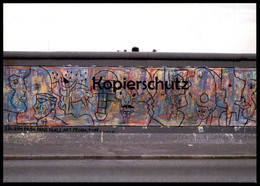 ÄLTERE POSTKARTE KIM PRISU O POVO UNIDO NUNCA MAIS SERA VEINCIDO BERLINER MAUER THE WALL LE MUR BERLIN Art Cpa AK - Berliner Mauer