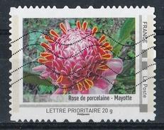 Collector Les Départements D'Outre-Mer 2012 : Rose De Porcelaine - Mayotte - Collectors