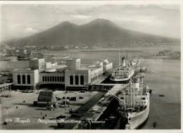 NAPOLI  STAZIONE  MARITTIMA   VESUVIO     ( NUOVA) - Napoli (Naples)