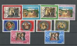 Montserrat: 274/ 277 + 282/ 287 ** - Montserrat