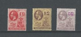 Montserrat: 44 + 47 + 48 * - Montserrat