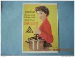 CLOUET  101003  SEB  MONSIEUR VOUS QUI AIMEZ    1954 SUPER COCOTTE - Advertising