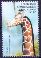 Giraffe, Wild Animals, Congo MNH