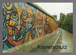 ÄLTERE POSTKARTE BERLIN MAUER BEI BETHANIEN BERLINER MAUER THE WALL LE MUR Art Cpa AK Postcard Ansichtskarte - Muro De Berlin