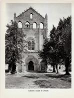 1957 - Héliogravure - Blasimon (Gironde) - La Façade De L'église - FRANCO DE PORT - Vieux Papiers