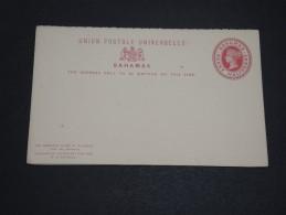 GRANDE BRETAGNE / BAHAMAS - Entier Postal Non Voyagé - A Voir - L  3367 - 1859-1963 Crown Colony