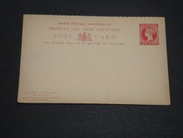 BERMUDES  - Entier Postal Non Voyagé - A Voir - L  3370 - Bermudes