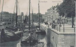 """PAYS BAS HOLLANDE ZUID HOLLAND ROTTERDAM  """" Spaansche Kade """" Précurseur - Rotterdam"""