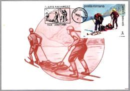 RESCATE EN ESQUIS - RESCUE ON SKIS. Baisoara 1994 - Escalada