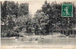 SAINT RAMBERT D' ALBON - Embarcadère Du Restaurant Ollier (91541) - Autres Communes