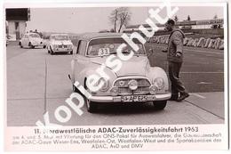 7 AK Nürburgring 1963, 11. Nordwestfälische ADAC-Zuverlässigkeitsfahrt  (z3599) - Turismo
