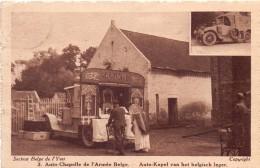 PK - Auto Chapelle - Auto Kapel Belgisch Leger  - Oorlog 1914 - 1918 - Guerre 1914-18