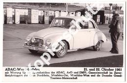 9 AK Nürburgring 1961, ADAC - Westfalenfahrt  (z3596) - Turismo