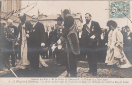 Evènements - Réception Roi Et Reine Du Danemark - 1907 - Cherbourg 50 - Président Fallières - Réceptions