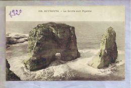 CPA Couleurs - Beyrouth (Liban) - 119. La Grotte Aux Pigeons - Libano