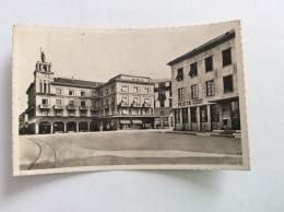 CHIASSO - Piazza Centrale - Cartolina FP BN V 1951 - TI Tessin