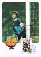 19440. Tarjeta Maxima  MADRID 1982. Futbol Mundial, Naranjito - Tarjetas Máxima