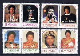 St Vincent - 1985 - Michael Jackson - MNH - St.Vincent (1979-...)