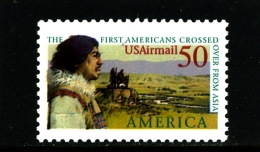 UNITED STATES/USA - 1991  CROSSED ASIA  MINT NH - Unused Stamps