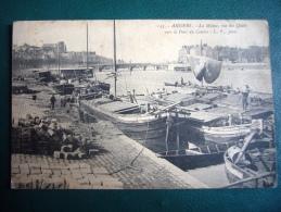 145- La Maine Vue Des Quais Vers Le Pont Du Centre - Angers