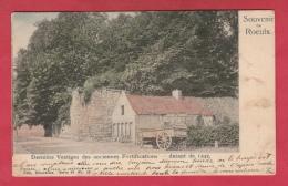 Le Roeulx - Derniers Vestiges Des Anciennes Fortifications, Datant De 1242 - Jolie Carte Couleur  -1904 ( Voir Verso ) - Le Roeulx