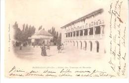 Barbazan (Haute Garonne)-+/-1900-Hôtel Des Thermes Et Buvette-Précurseur-Carte Nuage-Edit.Regnault, Toulouse - Barbazan