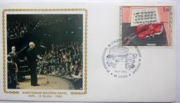 PREMIER JOUR  MUSIQUE A LYON X° ANNIVERSAIRE DE L'AUDITORIUM ROBERT DE FRAGNY  MAURICE RAVEL 1985 - France