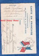 CPA Franchise Militaire - Correspondance De Tranchée Du Poilu André POULLAIN , Radio Télégraphiste 8e Division 1917 Ww1 - Guerre 1914-18