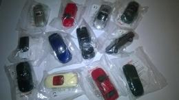 Set Completo 12 Mini Autobobilini Della Panini In Blister - Panini